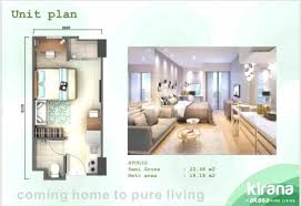 jual apartemen akasa pure living studio semi furnished over