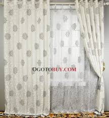 White Cotton Curtains Grey And White Curtains Panels Curtains Home Design Ideas