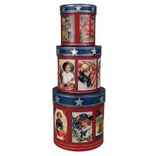 bethany lowe usa americana 4th of july patriotic nesting boxes