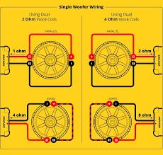 subwoofer speaker u0026 amp wiring diagrams kicker inside kicker