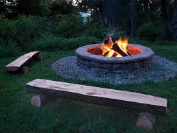 Backyard Campfire How To Outdoor Fire Pit Ideas U0026 Designs Perfect Fit Crescents
