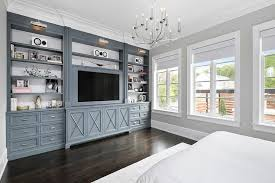 painting built in bookcases gunmetal gray bedroom built ins with polished nickel picture lights