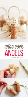how to make wine cork wine cork ornaments