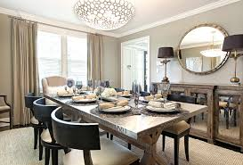dining room buffet ideas mirrored buffet table stainless steel tabletop