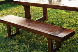 benches rustic farm style handmade custom rustic trades