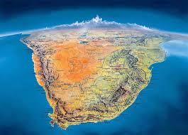 South Africa On World Map by South Africa On Map U2013 Mycitybynight