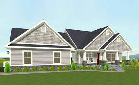 plan 77615fb one level shingle style house plan house exercise