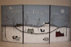 Hand Painted Fireplace Screens - adorable country classics hand painted two sided fireplace screen