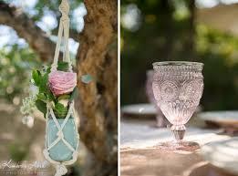 bohemian backyard wedding althea u0026 david