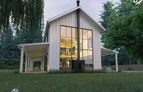 farmhouse porches one farmhouse plans wrap around porch modern house plan with