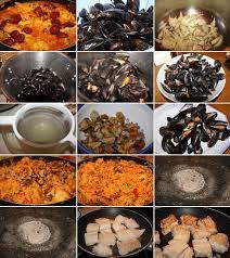 cuisiner une paella paëlla royale à ma façon tout le monde à table
