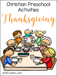 thanksgiving christian preschool activities prekinders