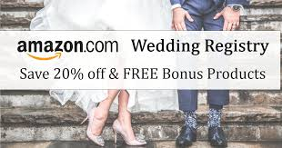 wedding registry deals sign up for an wedding registry for 20 free gifts