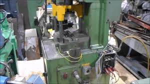 bruderer 30 ton air clutch punch press youtube