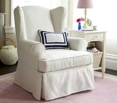 Slipcover For Wingback Chair Design Ideas My Wing Chair Slipcover Reveal Intended For Plans 12