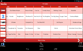 tv guide for android tv guide worksheet exle