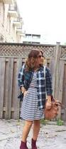 How To Mix Patterns Plaid And Stripes Something About That