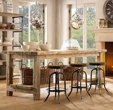 ilot de cuisine antique tables îlot de cuisine 10 superbes suggestions maison et demeure