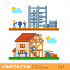 build a house free construction set process of building the house engineering