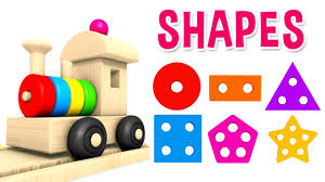 learn shapes with preschool toy train learning shapes videos for
