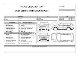 car damage report template fleet management logistics operational guide log digital