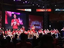 barangay ginebra san miguel thanksgiving day for the fans