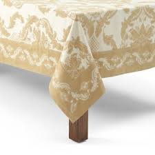 waterford table linens damascus waterford damascus tablecloth 70 x 126 bloomingdale s