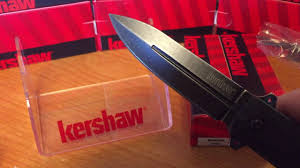 kershaw knives barstow 3960 youtube