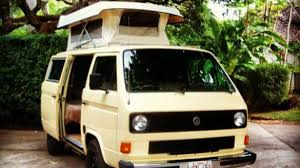 volkswagen camper trailer rent a camper van in hawaii