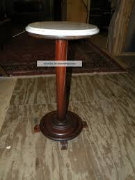 antique marble top pedestal table antique marble top pedestal plant stand table