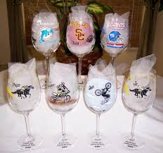 wine glass gift misguided designs painted gifts