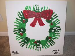 Hand Adventskranz Hand Advent Wreath Mit Grüner Farbe