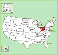 map usa ohio united states map map of usa