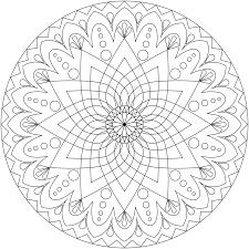 coloring pages fancy mandala coloring star pages mandala