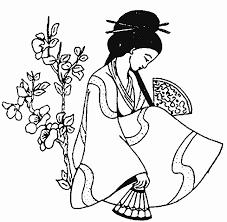 coloriage pays et regions asiatiques à colorier allofamille