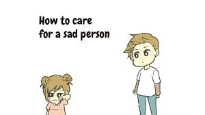 Sad Girlfriend Meme - happy lil sushi roll how to care for a sad person youtube
