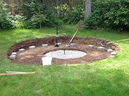 Firepit Area Why Put Gravel In Bottom Of Pit Seating Area Design How To