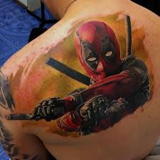 45 dashing deadpool tattoo designs redefining deadpool with ink