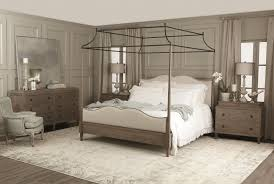 white canopy bed bedroom furniture creditrestore us bernhardt auberge poster bedroom set with metal canopy in weathered oak