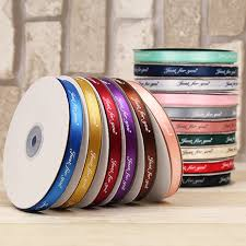 printed ribbon wholesale 50 yards lot 3 8 10mm polyester printed ribbons wholesale for