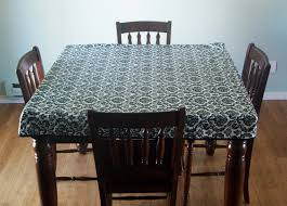 can you put a rectangle tablecloth on a round table running with scissors fitted simple tablecloth