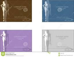 fashion business card 2 stock photos image 10267403