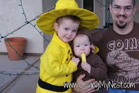 Curious George Costume The Man With The Yellow Hat Costume Loving My Nest