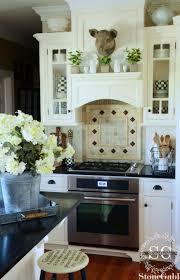 What Is A Kitchen Backsplash Farmhouse Kitchen Changes Stonegable