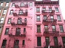Soho Nyc Map Mapping The Prettiest Of Pink Buildings In New York City