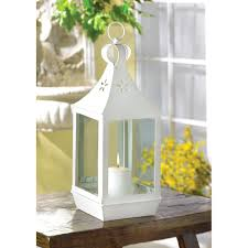 wholesale white candle lantern large white hanging patio candle