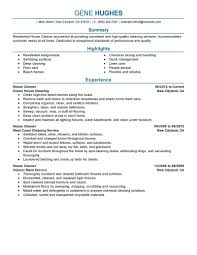 Resume Template Livecareer House Cleaning Resume Resume Cover Letter Template