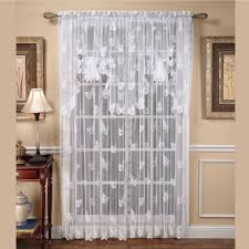 butterflies lace window treatments