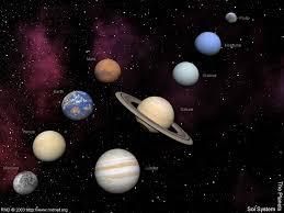 Solar System Map Solar System The Planets By Swarfega On Deviantart