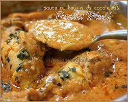 poulet cuisine poulet mafé sauce dakatine recettes faciles recettes rapides de